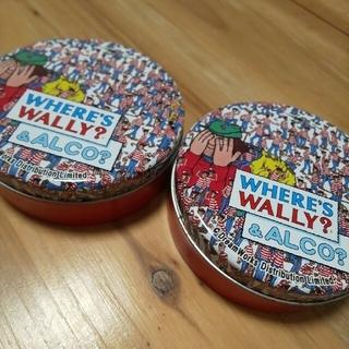 ウォーリー(WOLY)のウォーリーを探せ 缶セット(キャラクターグッズ)