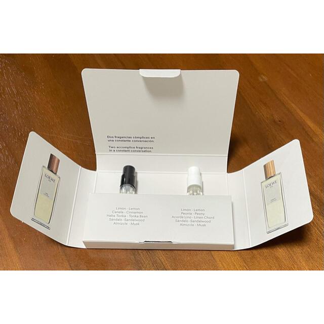 LOEWE(ロエベ)の新品未使用・ロエベ loewe  香水 サンプル コスメ/美容の香水(ユニセックス)の商品写真