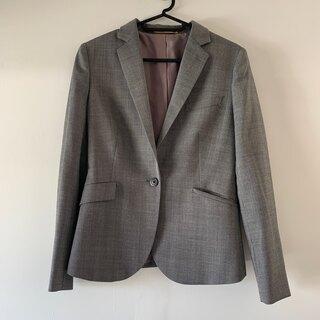 オリヒカ(ORIHICA)のオリヒカ スーツ ジャケット スカート セットアップ グレー (スーツ)