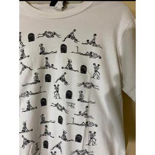 ジャンポールゴルチエ(Jean-Paul GAULTIER)のvintage エロ Tシャツ シャツ 48手 スカル 骸骨 体位(Tシャツ/カットソー(半袖/袖なし))