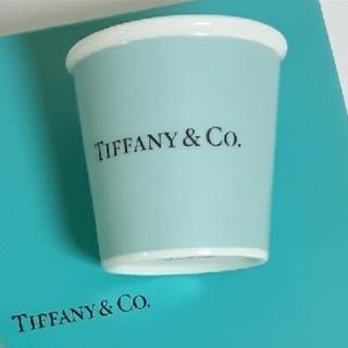 ティファニー(Tiffany & Co.)のティファニー エスプレッソ ペーパー カップ ボーンチャイナ (1個)(食器)