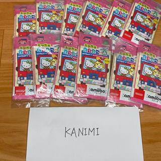 ニンテンドースイッチ(Nintendo Switch)の60パックセット どうぶつの森/サンリオ コラボ amiibo カード/アミーボ(Box/デッキ/パック)