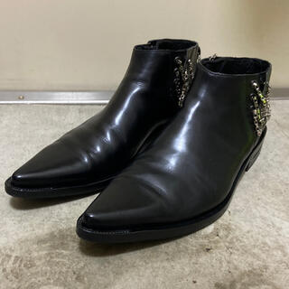 DIOR HOMME - dior homme ディオールオム 04AW victim期 チェーン ブーツ