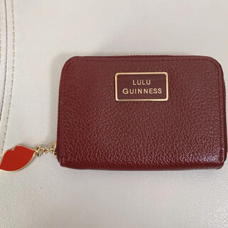LULU GUINNESS - LULU GUINNESS ルルギネス コインケース カードケース ミニ財布
