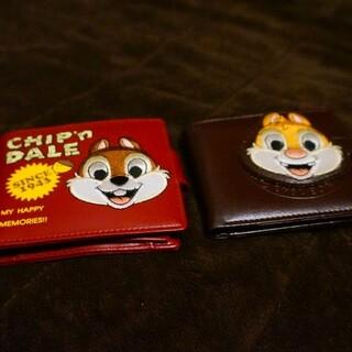 チップアンドデール(チップ&デール)のチップとデール 財布 日本未発売!(キャラクターグッズ)