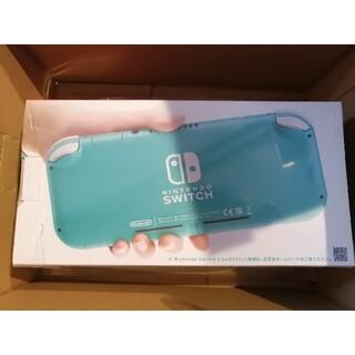 ニンテンドースイッチ(Nintendo Switch)のニンテンドーswitch Lite ターコイズ 新品未開封(家庭用ゲーム機本体)