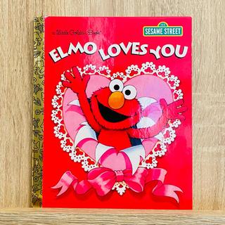セサミストリート(SESAME STREET)の英語絵本 キッズ洋書 セサミストリート エルモ Elmo Loves You(絵本/児童書)