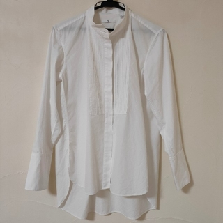 ユニクロ(UNIQLO)のUNIQLO +J ユニクロ プラスジェイ スピーマコットンタックシャツ S(シャツ/ブラウス(長袖/七分))