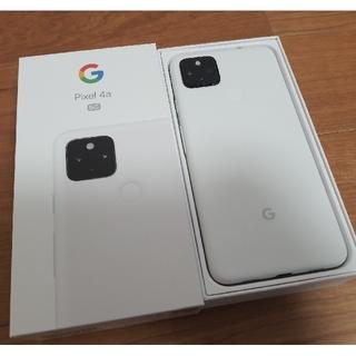 Google Pixel - Google Pixel  4a 5G  ホワイト SIMロック解除済