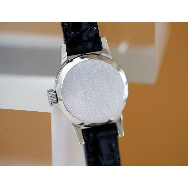 OMEGA(オメガ)の美品 オメガ デビル カットガラス シルバー 手巻き レディース Omega レディースのファッション小物(腕時計)の商品写真