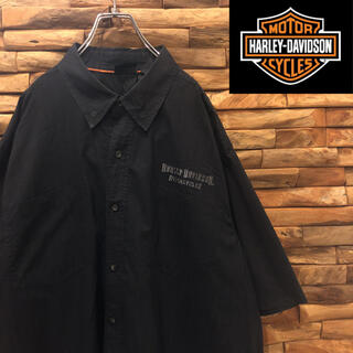 ハーレーダビッドソン(Harley Davidson)の☆レア☆ ハーレーダビッドソン 半袖シャツ ビッグシルエット 3XLサイズ(シャツ)