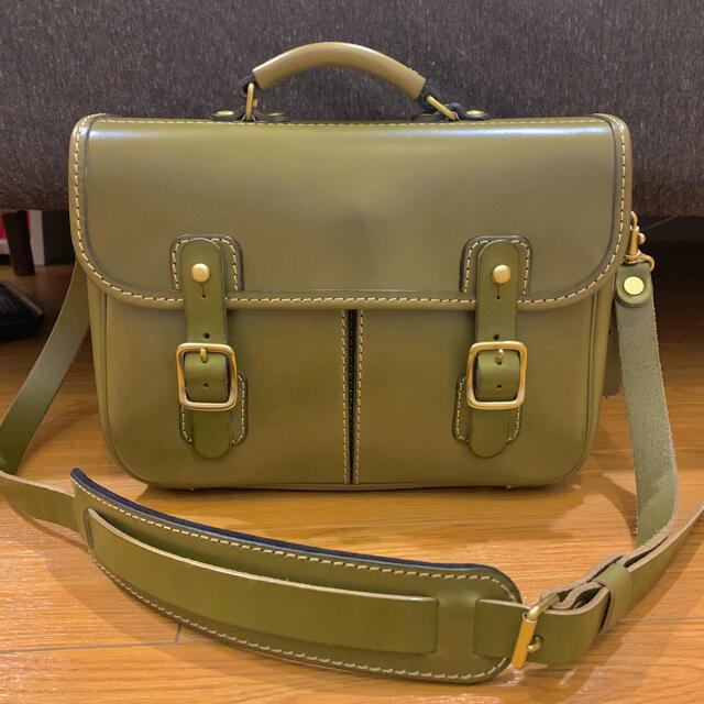 HERZ(ヘルツ)の【HERZ(ヘルツ)】2wayショルダーバッグ(CW-10) 肩当て付き メンズのバッグ(ショルダーバッグ)の商品写真