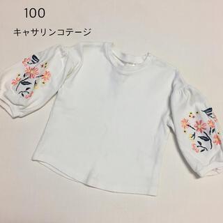 キャサリンコテージ(Catherine Cottage)の100 キャサリンコテージ 刺繍 トップス(Tシャツ/カットソー)