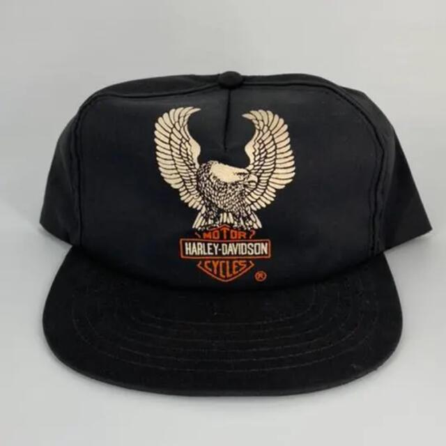 Harley Davidson(ハーレーダビッドソン)の《希少》Harley-Davidson Vintageキャップ 80年代 メンズの帽子(キャップ)の商品写真