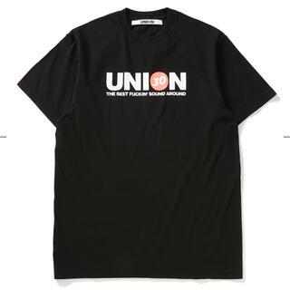 シュプリーム(Supreme)のUNION ORIGINAL DOLO S/S TEE L BLACK ユニオン(Tシャツ/カットソー(半袖/袖なし))