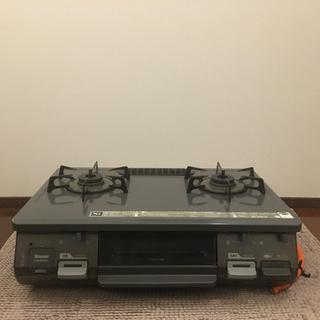 リンナイ(Rinnai)の本日限特価リンナイ RT64JH-R プロパンLPガス用 59cm幅 ガスコンロ(調理機器)