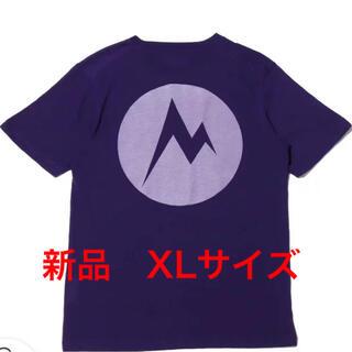 マーモット(MARMOT)のマーモット バックプリントTシャツ 正規品 XLサイズ 新品タグ付 最終値下げ(Tシャツ/カットソー(半袖/袖なし))