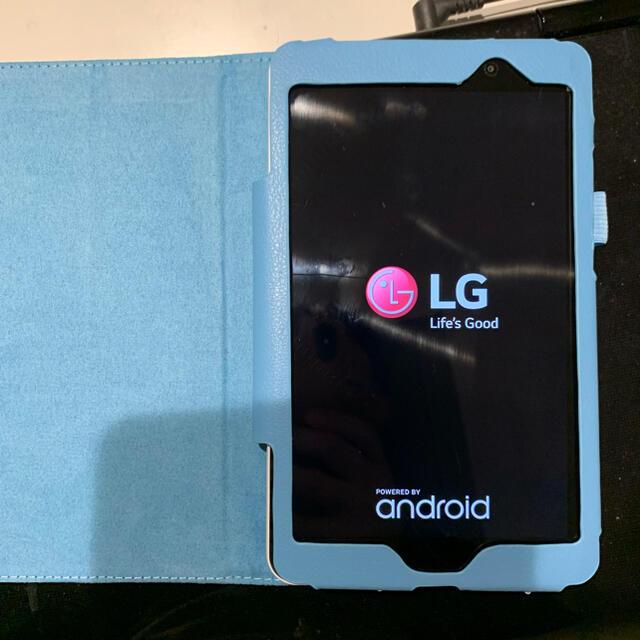 LG Electronics(エルジーエレクトロニクス)のLG T02タブレットSIMフリー スマホ/家電/カメラのPC/タブレット(タブレット)の商品写真