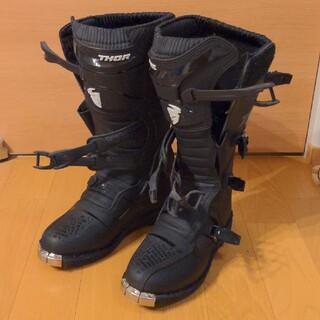 THOR ブーツ BLITZ XP ブラック US11/UK9(モトクロス用品)