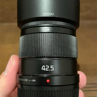Panasonic - LUMIX G 42.5mm/F1.7