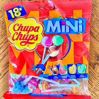 Chupa Chups MiNiチュッパチャプス ミニ18本入り(菓子/デザート)
