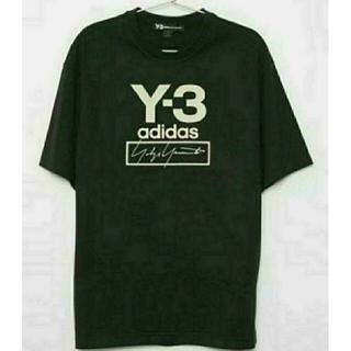 ヨウジヤマモト(Yohji Yamamoto)のSENSE掲載 美品 送込 Y-3 Stacked Logo ラバープリント(Tシャツ/カットソー(半袖/袖なし))