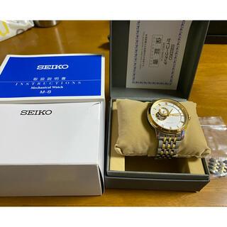 セイコー(SEIKO)のSEIKO 腕時計 ゴールド 自動巻(腕時計(アナログ))