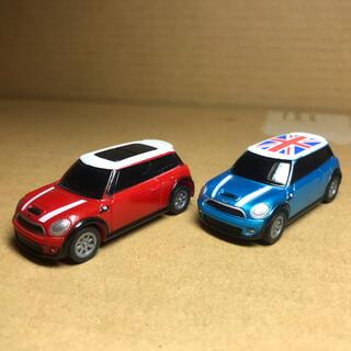 BMW - ミニクーパー プルバックミニカー  全長約5cm 2台セット