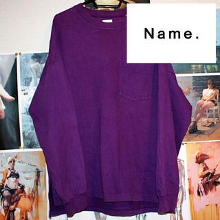 Name./スウェット/ビッグシルエット/0/S(スウェット)