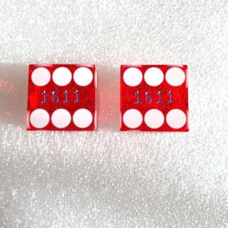 ♠️ラスベガスの老舗カジノで使用されたサイコロ1ペア(トランプ/UNO)