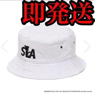 シー(SEA)のBE@RBRICK atmos WIND AND SEA LOGO HAT(ハット)