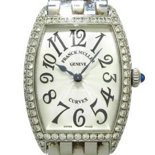 フランクミュラー(FRANCK MULLER)のフランクミュラー 腕時計 1752QZD シルバー(腕時計)