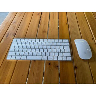 アップル(Apple)のApple Magic keyboard apple Magic mouse2 (PC周辺機器)