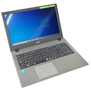 エイサー(Acer)のacerノートPCWin10Celeron4GBメモリ 240GBSSD 647(ノートPC)