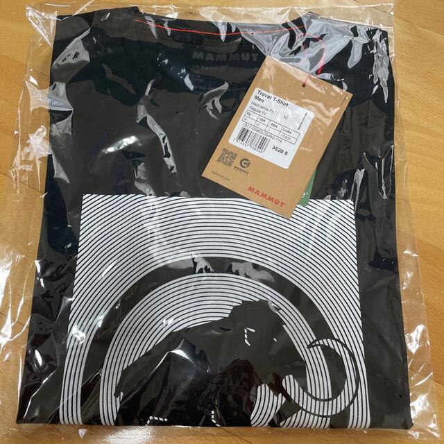 Mammut(マムート)のマムート トロバットTシャツ  BLACKWhite メンズのトップス(Tシャツ/カットソー(半袖/袖なし))の商品写真
