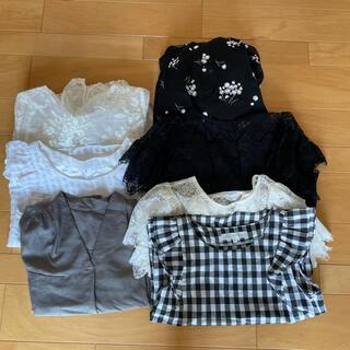 マーキュリーデュオ(MERCURYDUO)のお洋服7点セット(Tシャツ(半袖/袖なし))