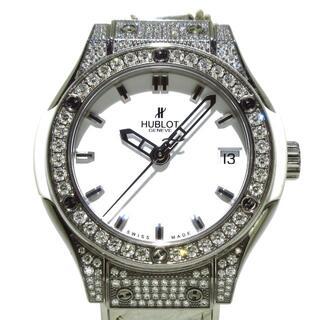 ウブロ(HUBLOT)のウブロ 腕時計 クラシック フュージョン 白(腕時計)