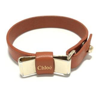 クロエ(Chloe)のクロエ ブレスレット - レザー×金属素材(ブレスレット/バングル)