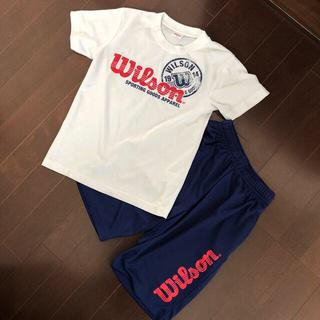 Wilson Tシャツハーフパンツ セット 140