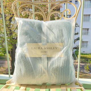 ローラアシュレイ(LAURA ASHLEY)のパーカーダックエッグ ブランケット 125CM × 150CM(毛布)