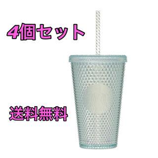 スターバックスコーヒー(Starbucks Coffee)のスタバ ロゴコールドカップタンブラーバンピー 4個セット(タンブラー)