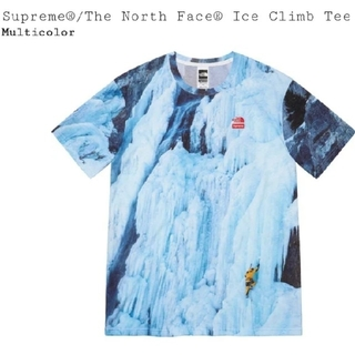 シュプリーム(Supreme)のSupreme The North Face Ice Climb Tee  L(Tシャツ/カットソー(半袖/袖なし))