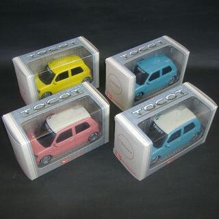 ダイハツ(ダイハツ)の【未使用】ダイハツ ミラ トコット プルバックカー 4色セット(ミニカー)