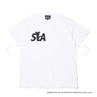シー(SEA)のウィンダンシー アトモス ベアブリック windandsea atmos(Tシャツ/カットソー(半袖/袖なし))