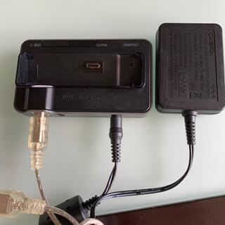 カシオ(CASIO)のカシオ エクシリム デジタルカメラ充電器(コンパクトデジタルカメラ)