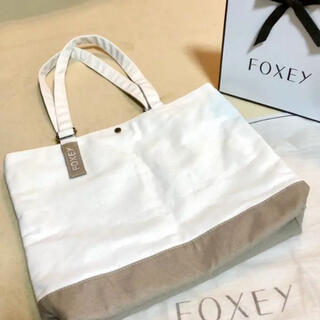 フォクシー(FOXEY)のフォクシー ノベルティ トートバッグ 非売品 foxey 新品未使用(トートバッグ)