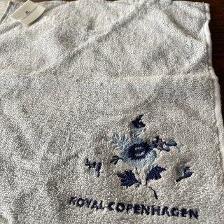 ロイヤルコペンハーゲン(ROYAL COPENHAGEN)のROYAL  COPENHAGEN  ロイヤルコペンハーゲン タオルハンカチ2枚(ハンカチ)