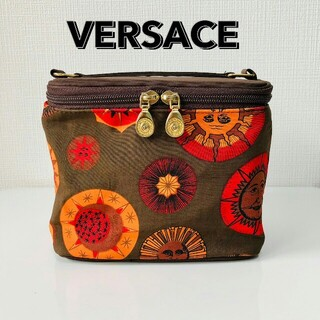 ヴェルサーチ(VERSACE)のレアデザイン VERSACE バニティ 化粧 メイク コスメ ポーチ(メイクボックス)
