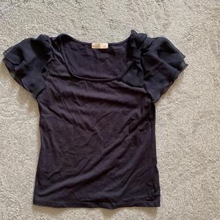 フェルゥ(Feroux)のFeroux リボン Tシャツ 美品(Tシャツ(半袖/袖なし))