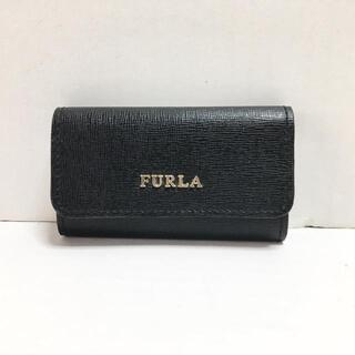 Furla - フルラ キーケース美品  - 黒 6連フック
